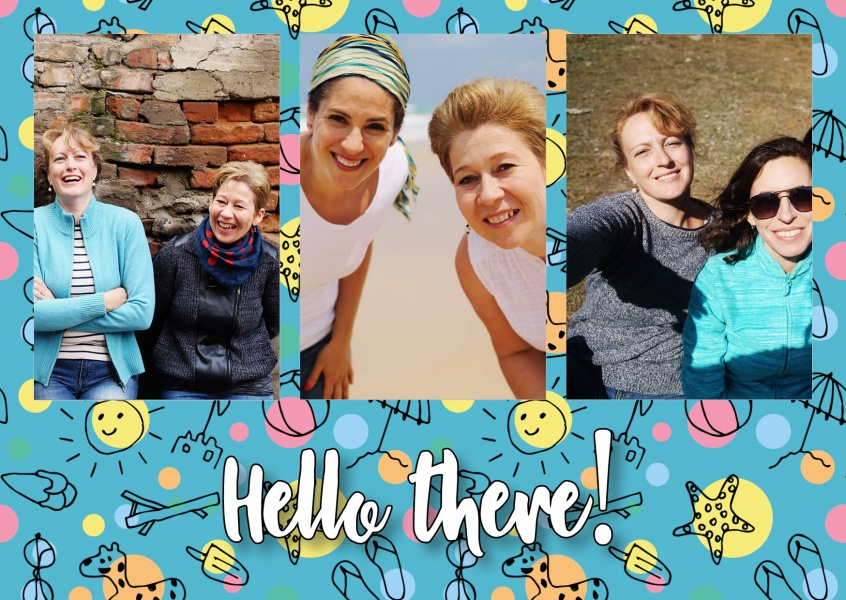 Postcard Happiness Project hello there