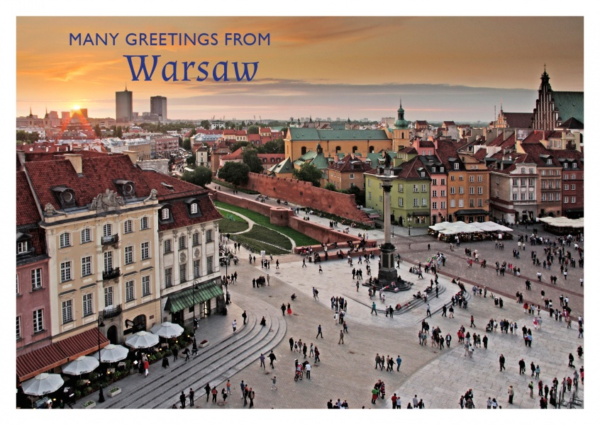 photo of Warsaw's old town