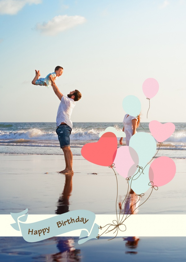 pastel coloured balloons in heart shape
