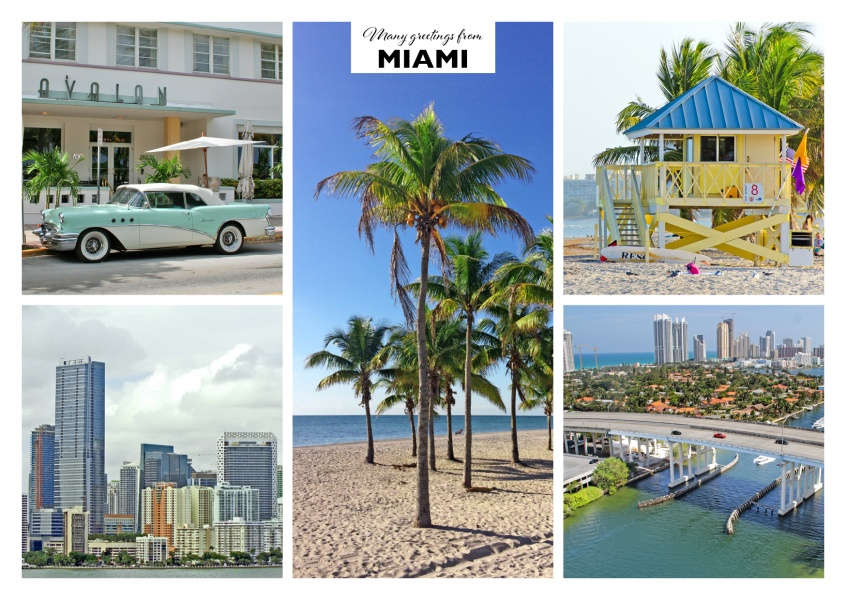 five photos of miami – florida