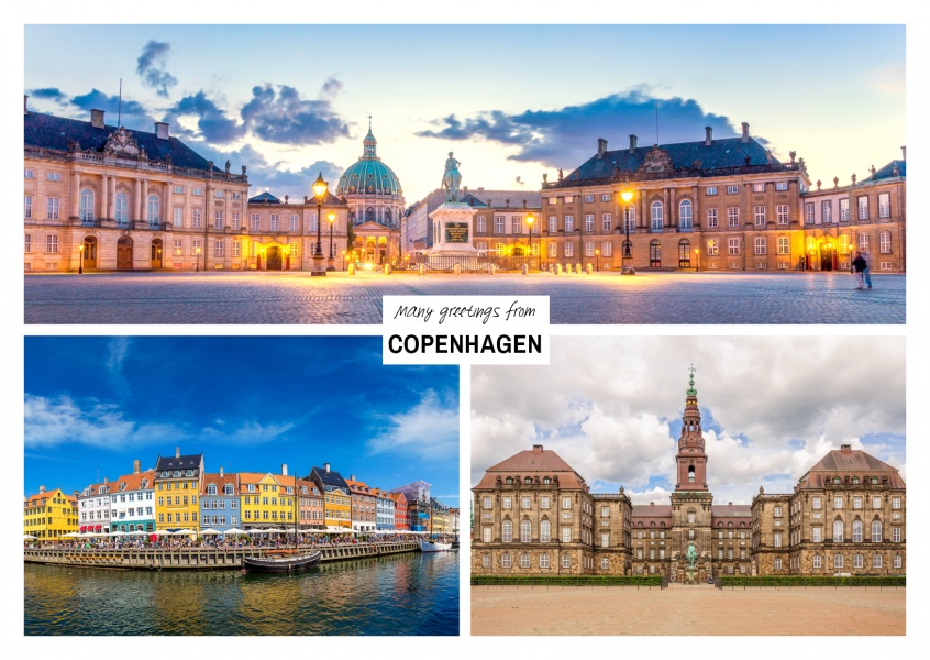 Three photos of copenhagen – denmark