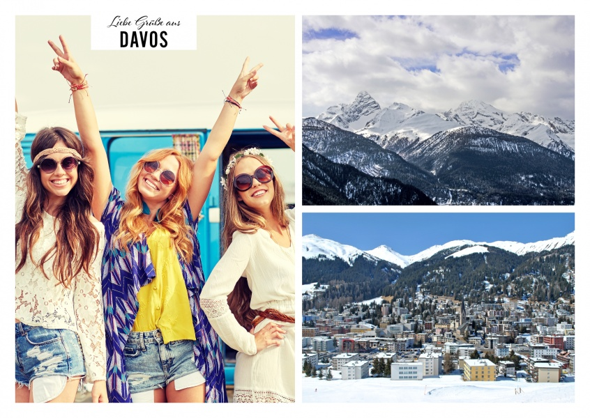 Davos Duo Fotocollage