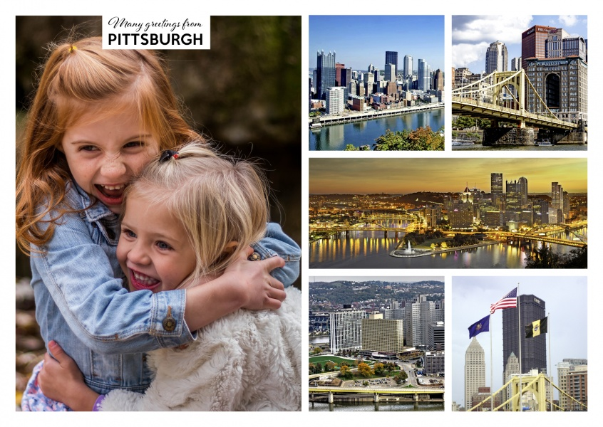 pittsburgh usa multipicture collage