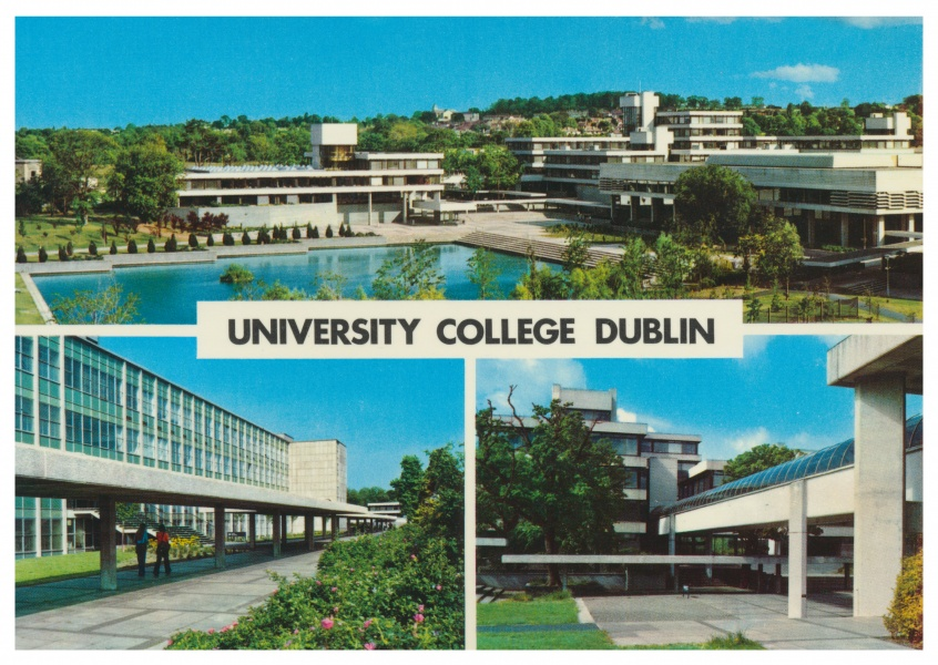 The John Hinde Archive Foto University College, Dublin
