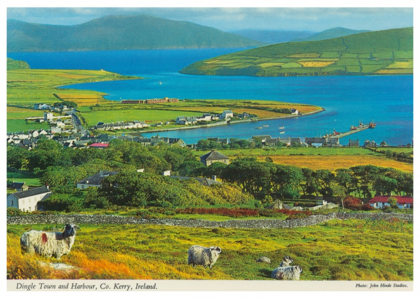 The John Hinde Archive Foto Dingle Town and Harbour, Co. Kerry