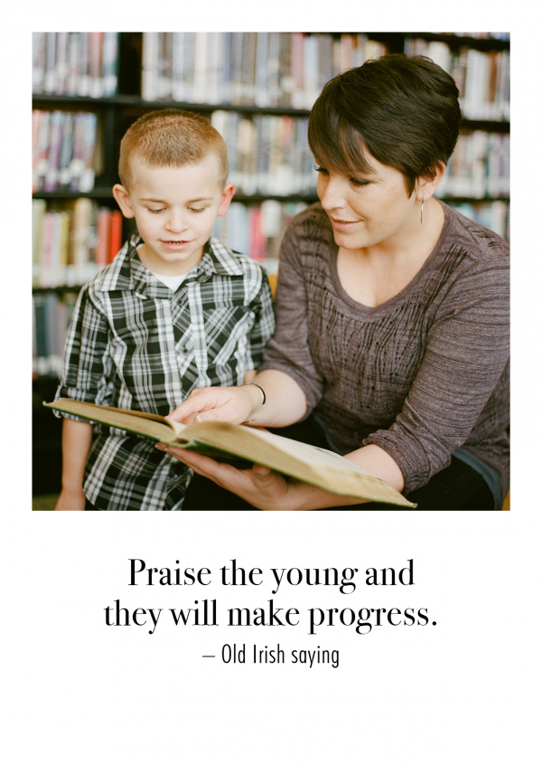 The Leaven Praise the young and they will make progress