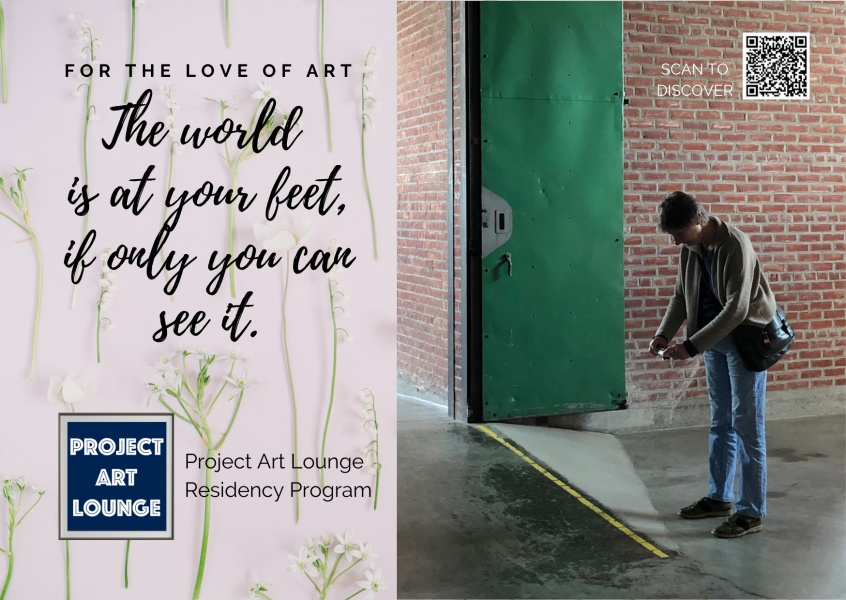 Postkarte Project Art Lounge - For the love of Art