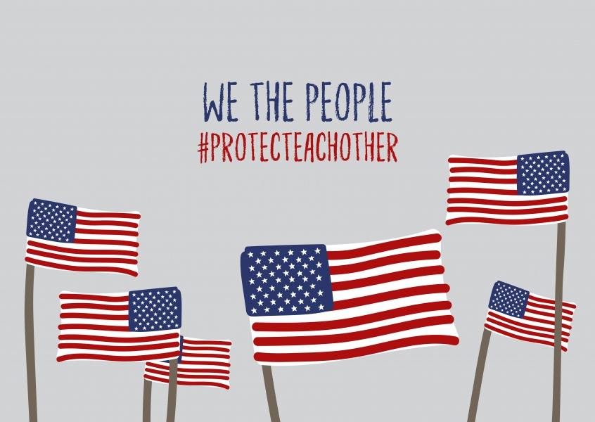 We the people Protect each Other