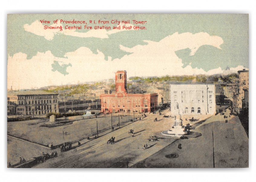 Providence, Rhode Island, Central Fire Station and Post Office