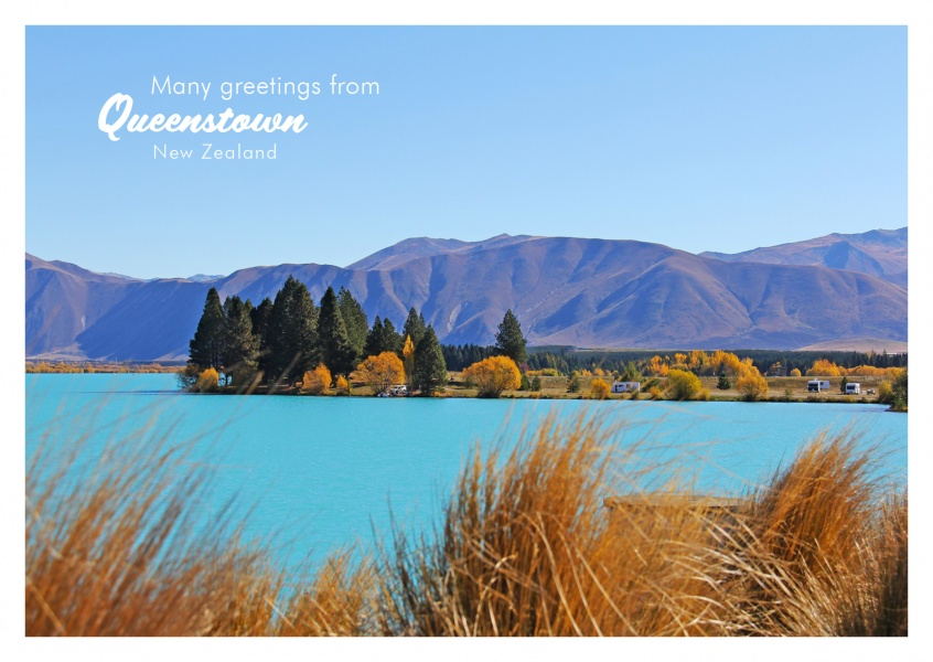 Foto Queenstown lake district