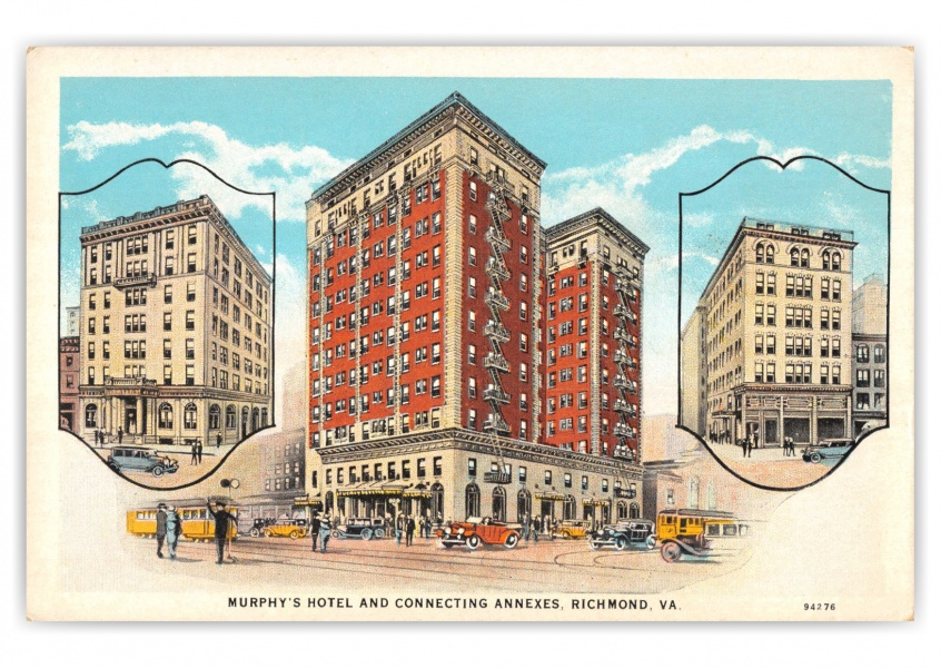 Richmond, Virginia, Murphys Hotel and Connecting Annexes