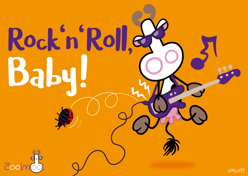 Rock and Roll baby! The CoolMoo