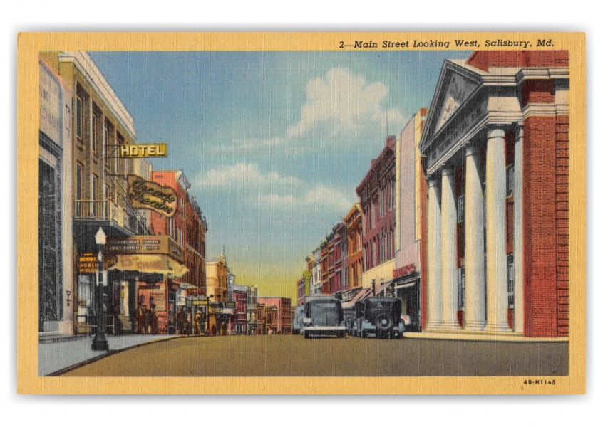 Salisbury, Maryland, Main Street looking west
