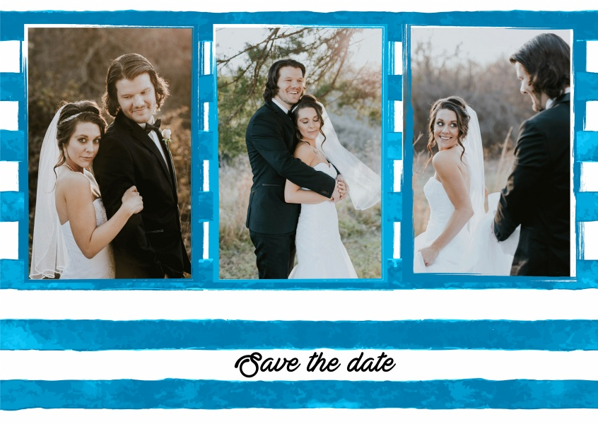 Create save the date cards online in Melbourne