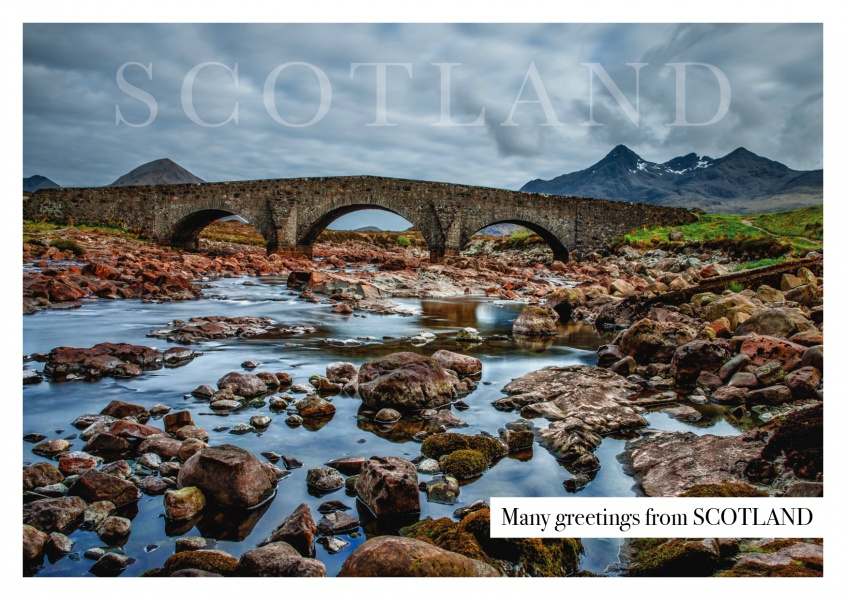 Scotland highlands bridge
