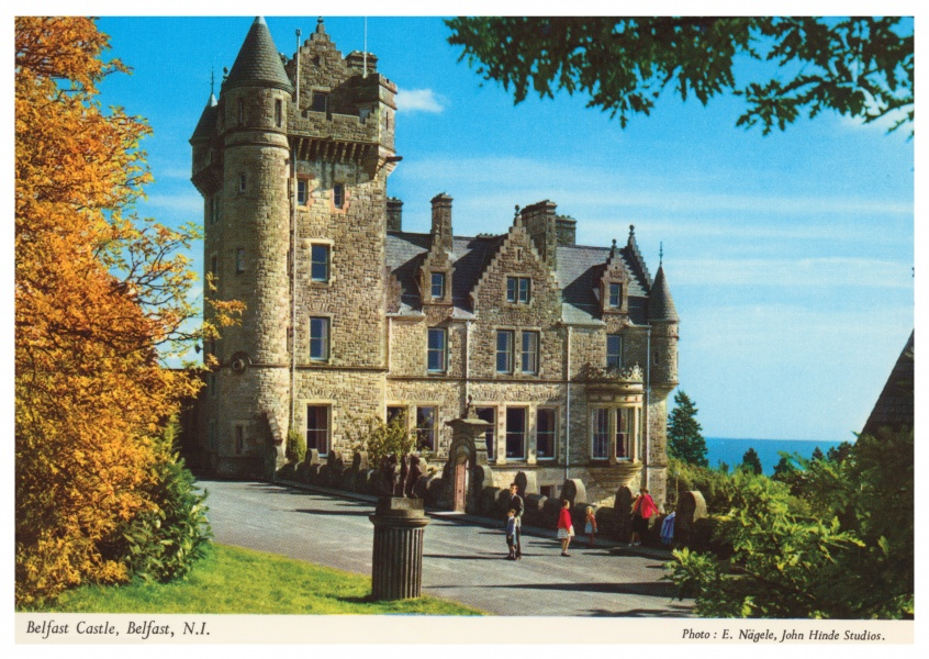 The John Hinde Archive photo Belfast Castle, Northern Ireland