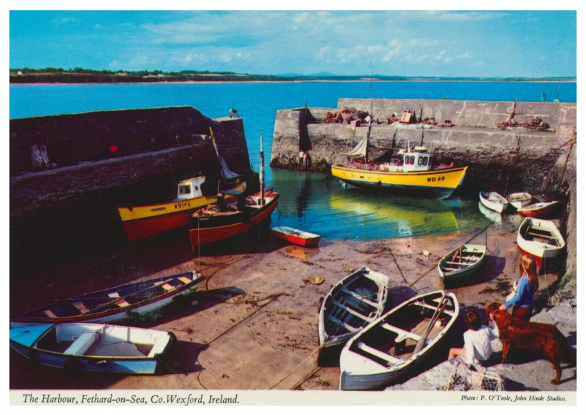 The John Hinde Archive photo The Harbour, Fethard-on-sea