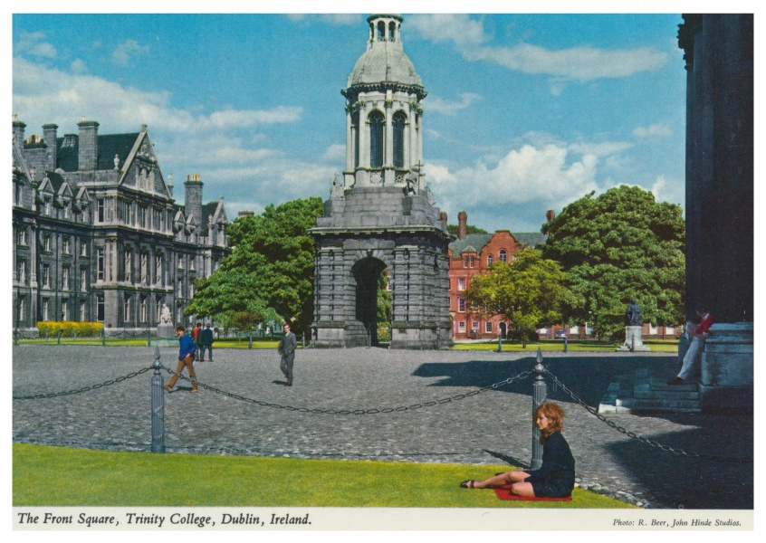 The John Hinde Archive photo The Front Square, Trinity College, Dublin, Ireland