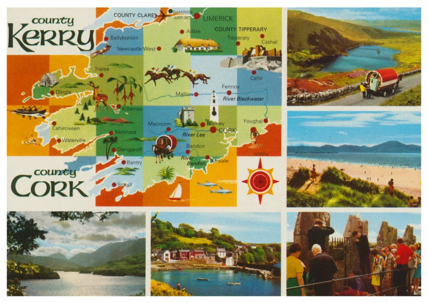 The John Hinde Archive Kerry & Cork