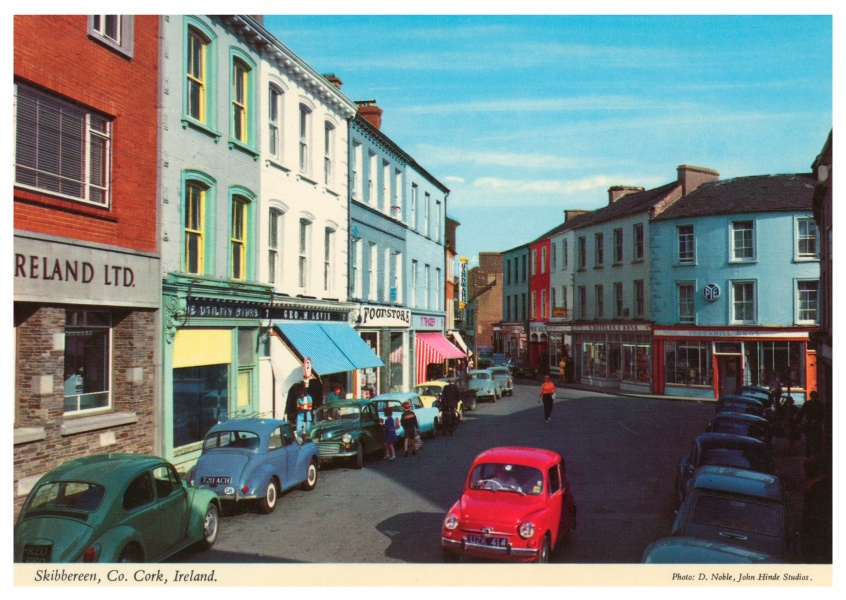 The John Hinde Archive photo Skibbereen, Co. Cork, Ireland