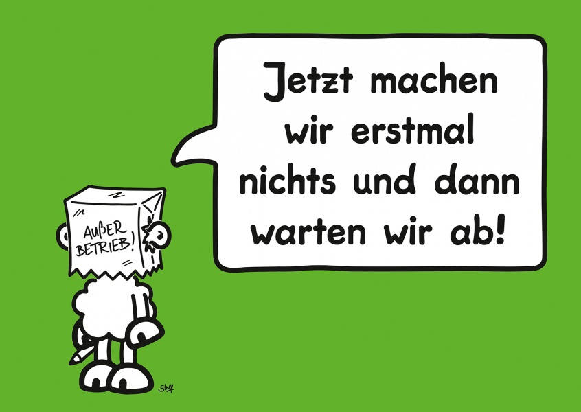 sheepworld spruch postkarte mypostcard