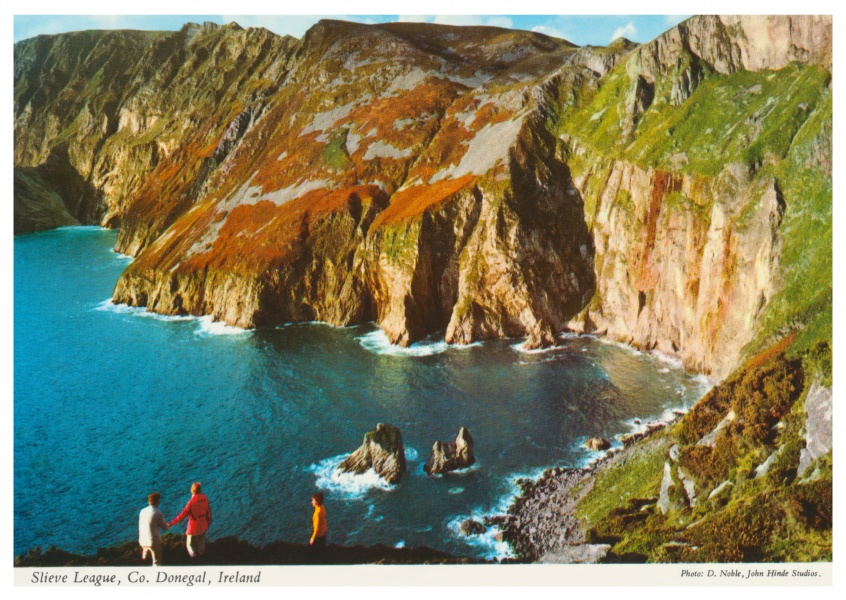 John Hinde Arkiv foto Slieve League, Co. Donegal, Irland