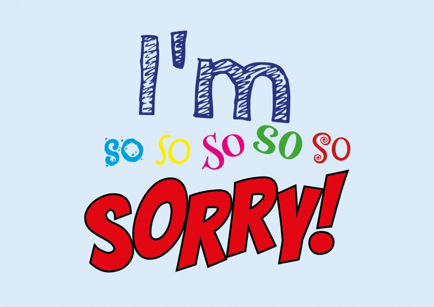I M So So So So So Sorry I M Sorry Cards Quotes Send Real Postcards Online