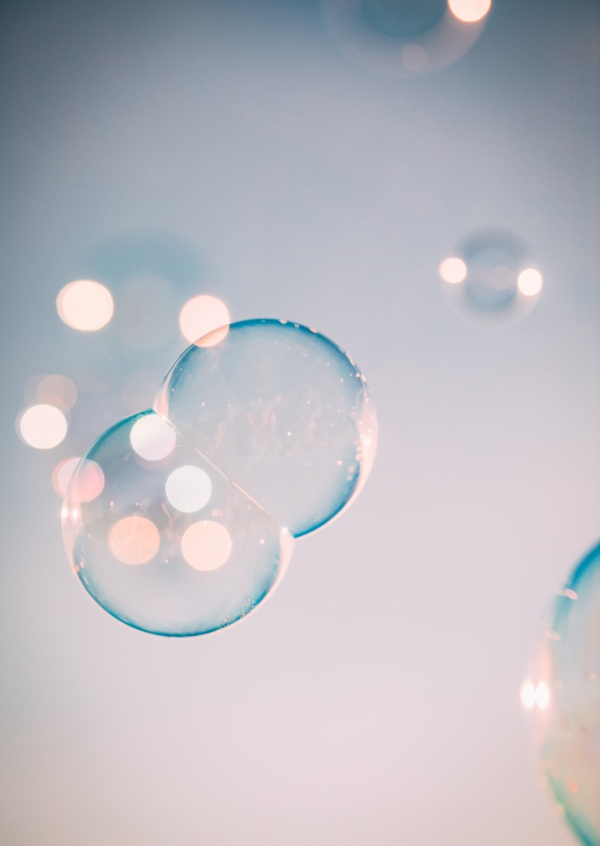 picture with soapbubbles