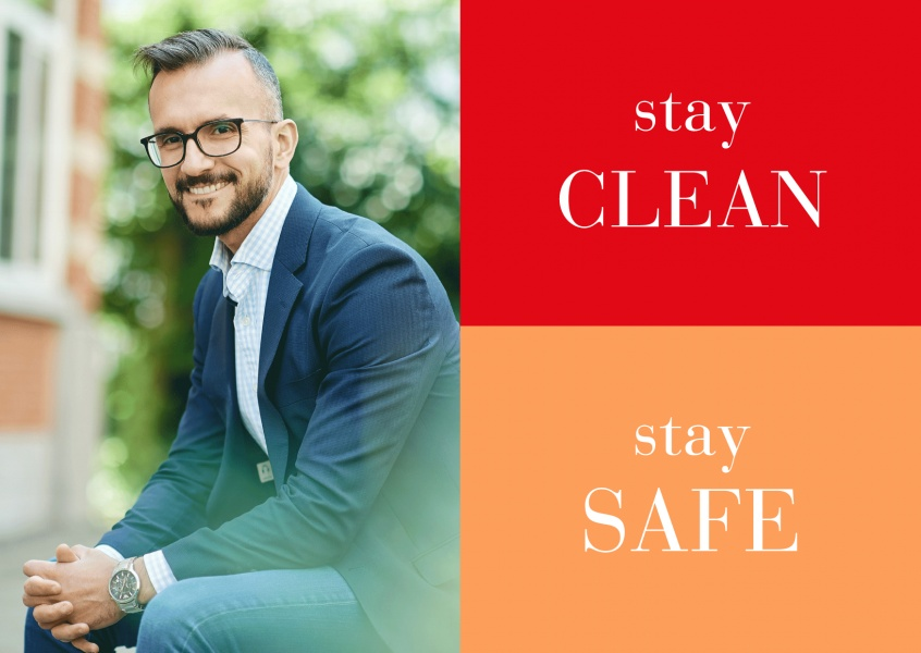 Meridian Design stay clean stay safe