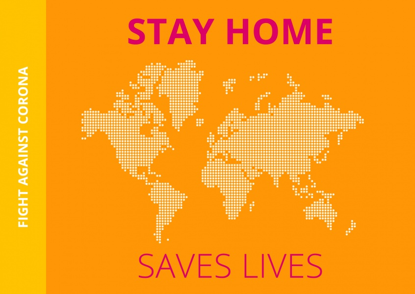 Meridian Design tStay home saves lives
