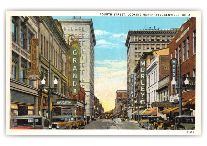 Steubenville, Ohio, Fourth Street looking north