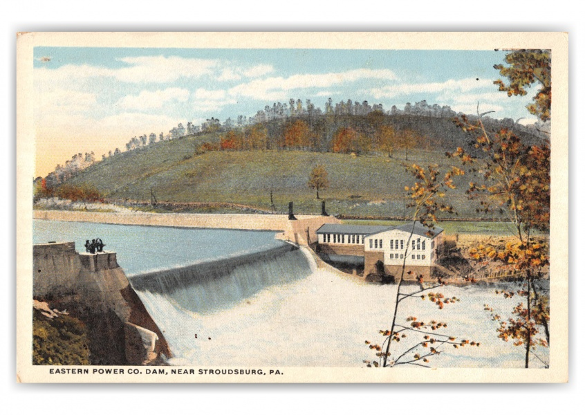 Stroudsburg, Pennsylvania, Easter Power Dam