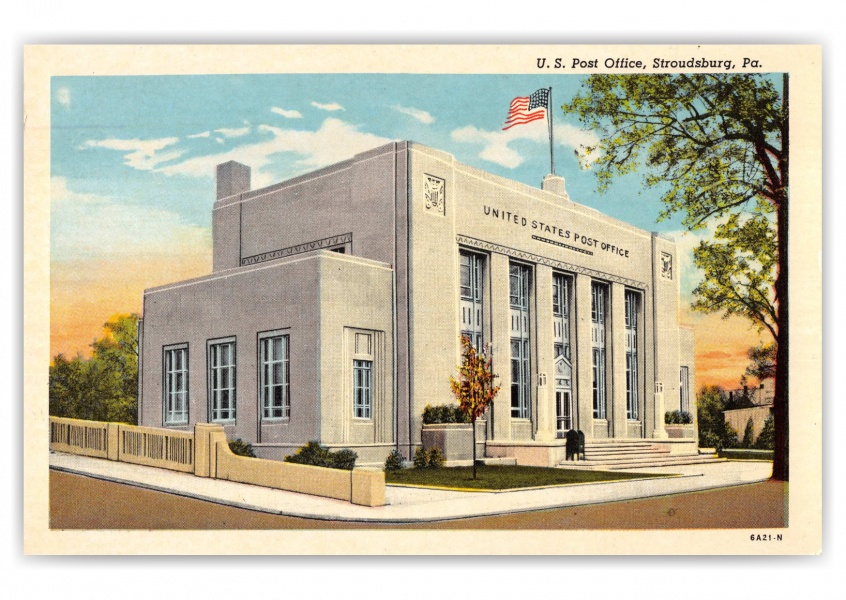 Stroudsburg, Pennsylvania, US Post Office