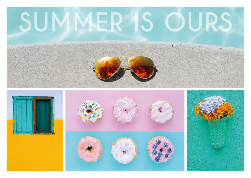 summer photocollage