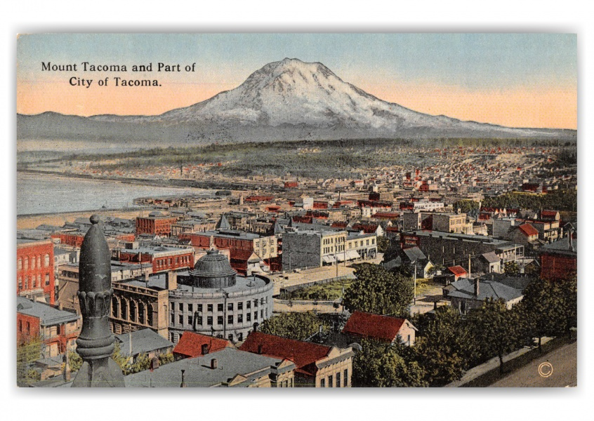 Tacoma, Washington, Mount Tacoma and city