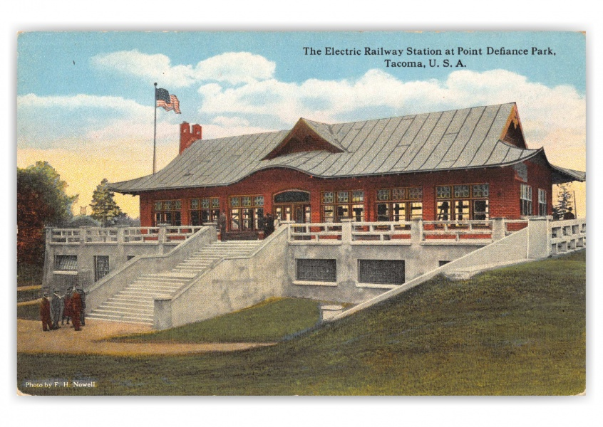 Tacoma, Washington, The Elctric Railway Station, Point Defiance Park