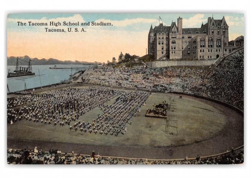 Tacoma, Washington, The Tacoma Highschool and Stadium