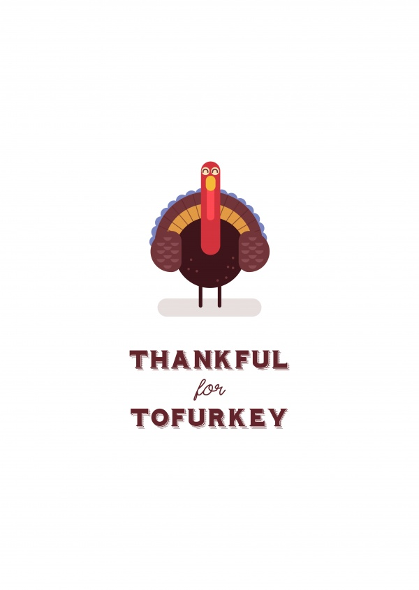 Thankful for Tofurkey