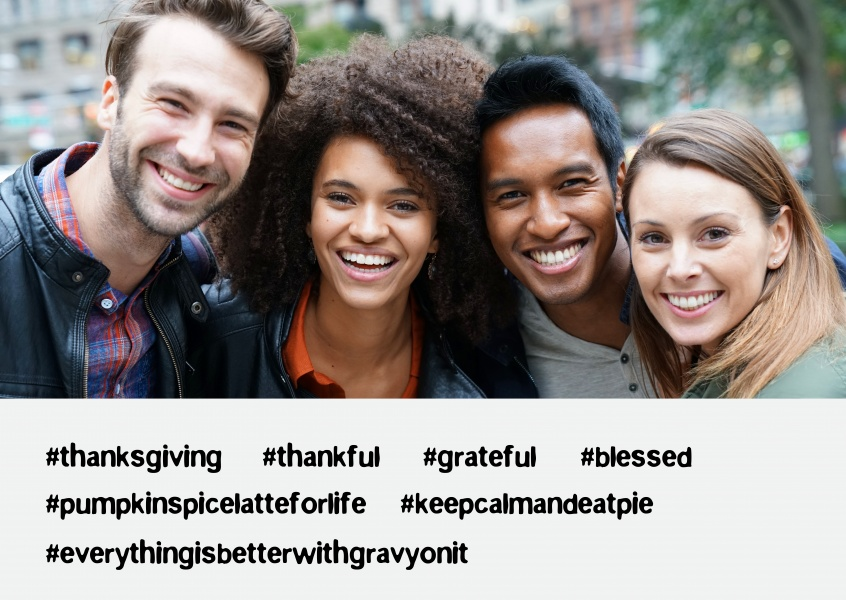 Thanksgiving hashtags