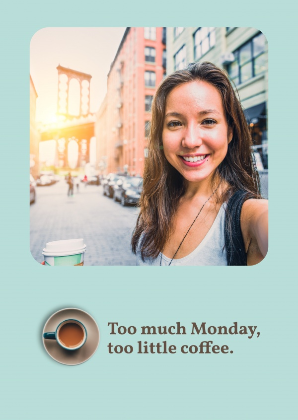 Too much Monday, too little coffee
