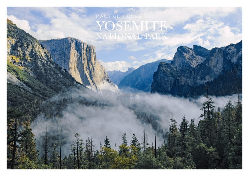 foto von yosemite national park half dome trail