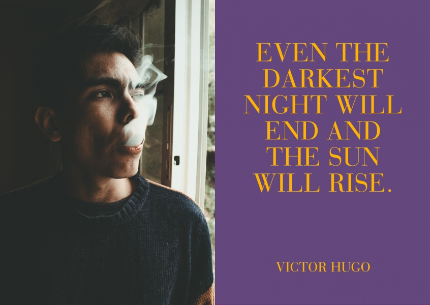 Meridian Design Even the darkest night will end and the sun will rise