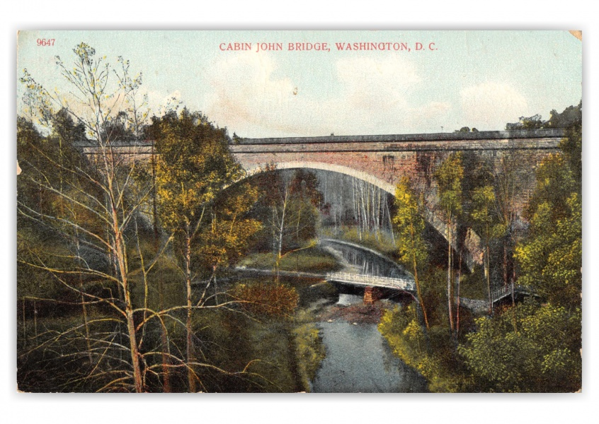 Washington DC, Cabin John Bridge