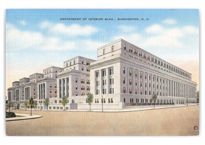 Washington DC, Department of Interior bldg