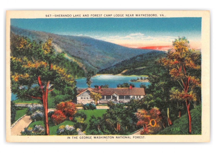 Waynesboro, Virginia, Sherando Lake and Forest Camp