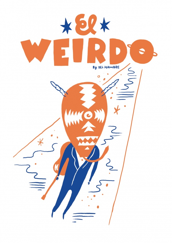 Del Hambre Illustratie weirdo