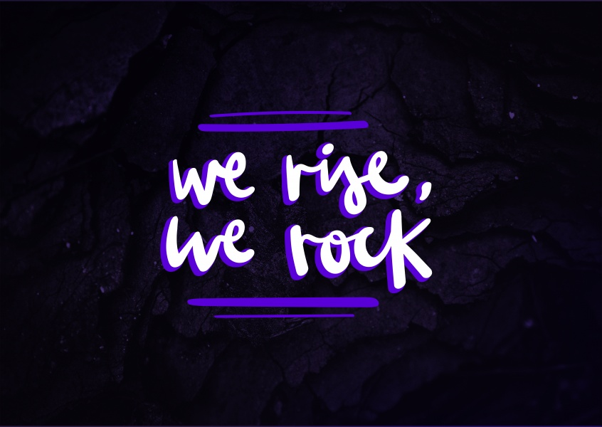 We Rise, we rock