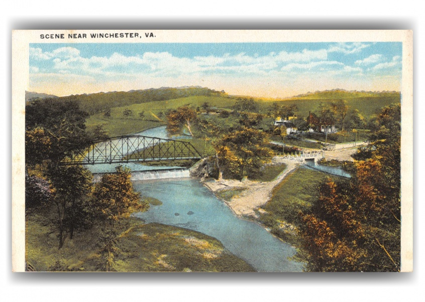 Winchester, Virginia, birds-eye view