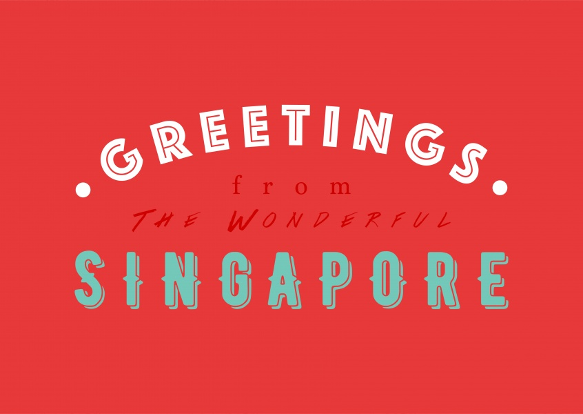 Greetings from the wonderful Singapore