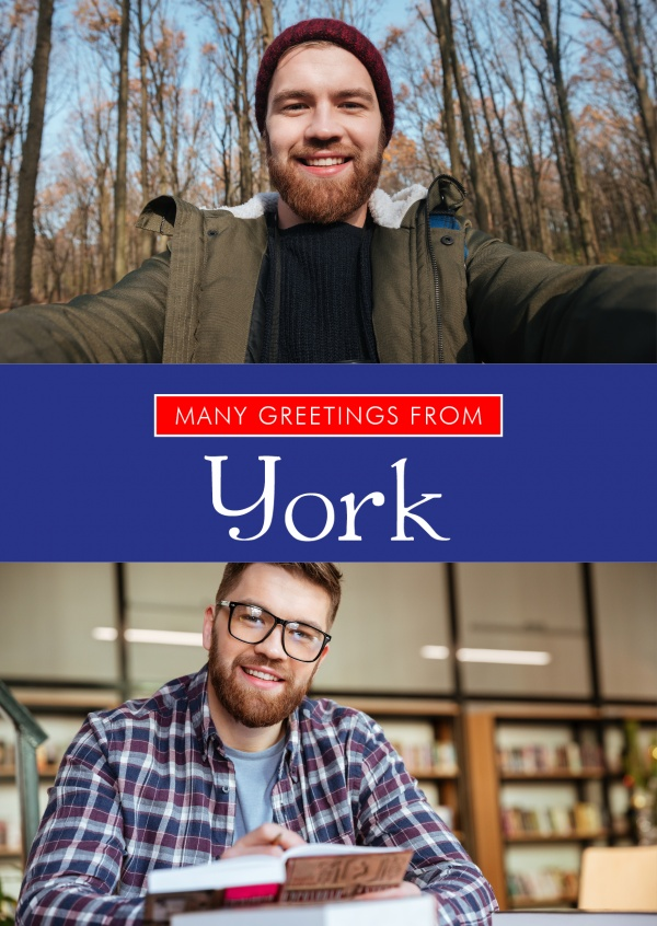 York greetings in English